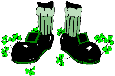 Clover clipart leprechaun Clover Clipart  art Holiday/StPatrick