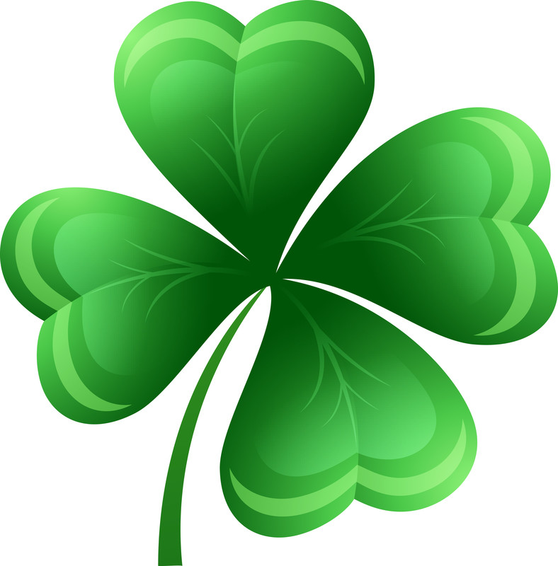Clover clipart march newsletter Parish shamrock 4 Quilters North