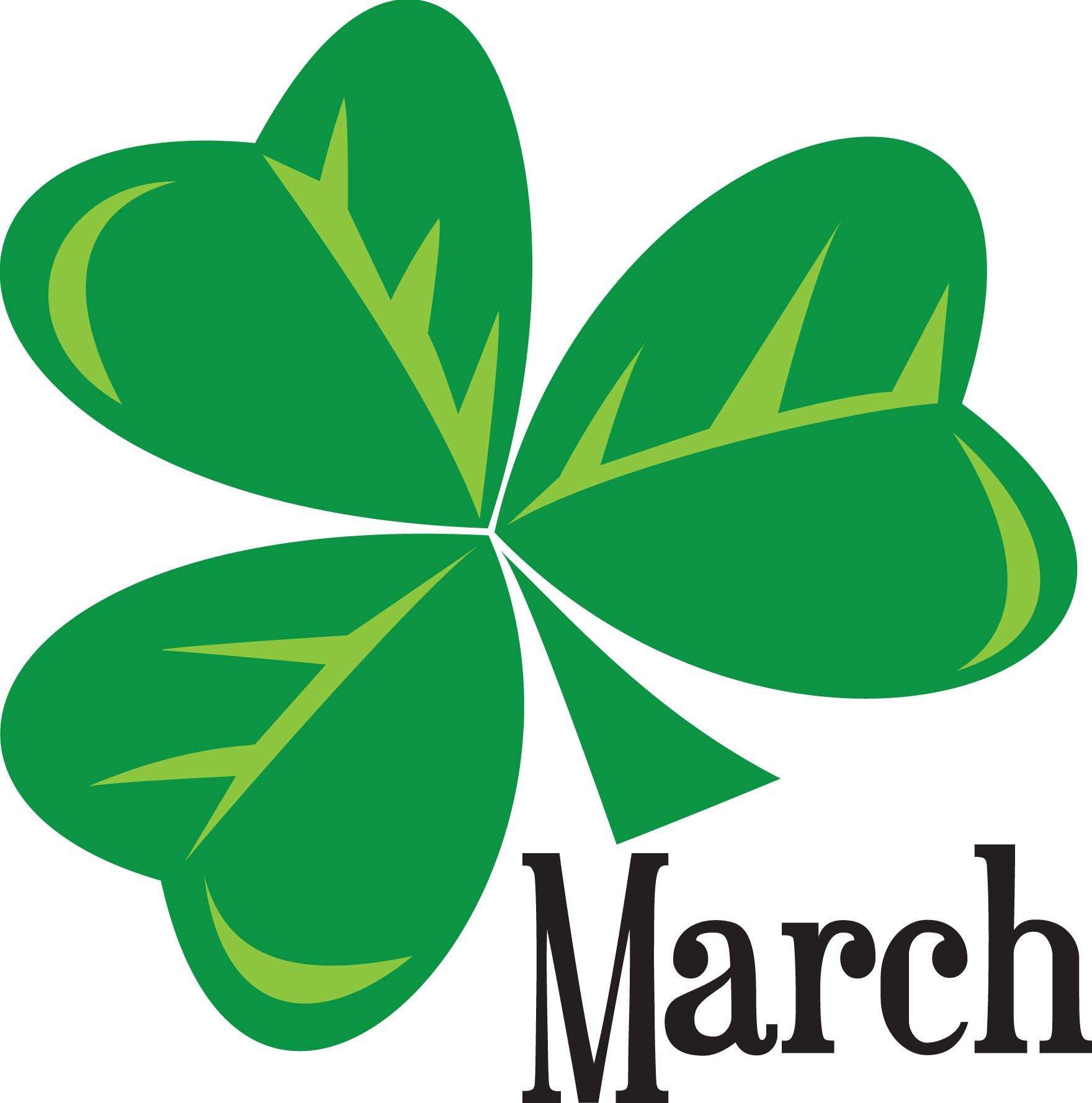 Clover clipart march newsletter  mar_9875c March Newsletter 2016