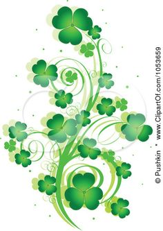 Clover clipart smooth thing An a Clip Patrick's enchanted
