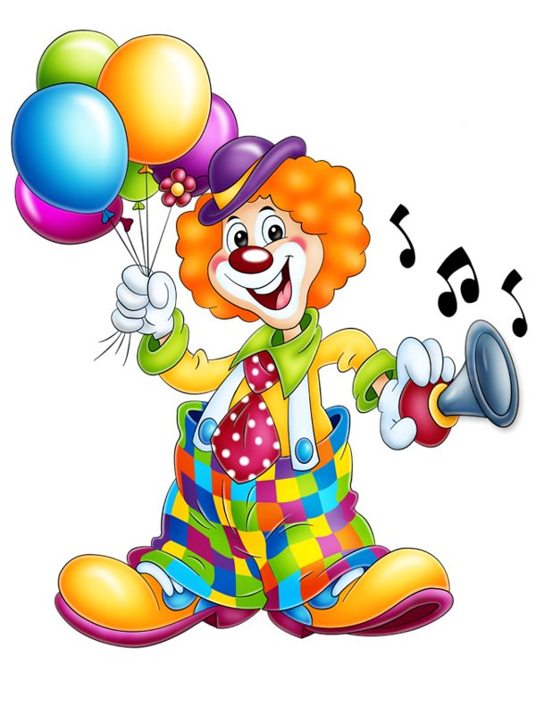 Clown clipart Cartoon Art Clown Cartoon Clip