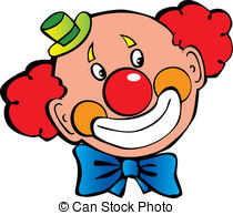 Clown clipart Clown Face Illustrations Clown royalty