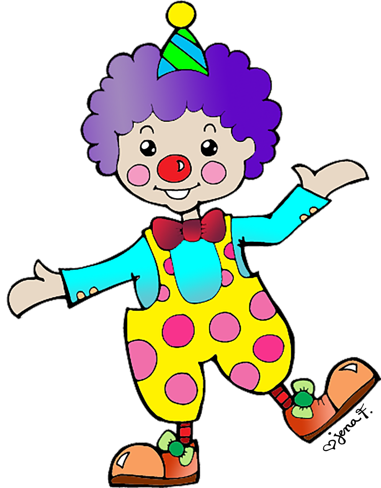 Joker clipart for kid #1