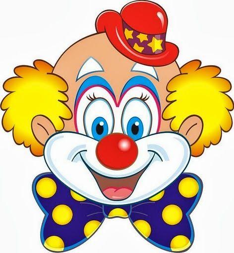 Clown clipart ART CLIP 122 ART Pinterest