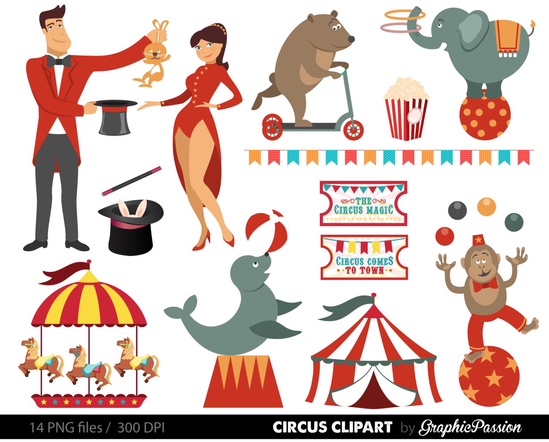 Seal clipart circus show #14