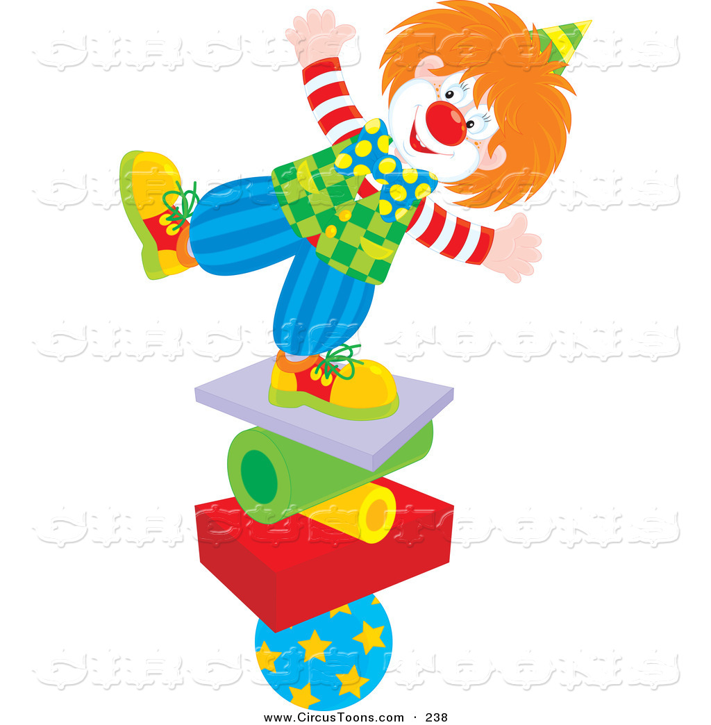 Circus clipart circus juggler On a Stack a Clipart