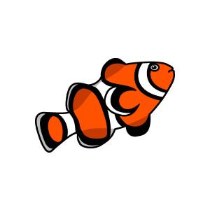 Clownfish clipart WikiClipArt live clipartfox Clownfish clown