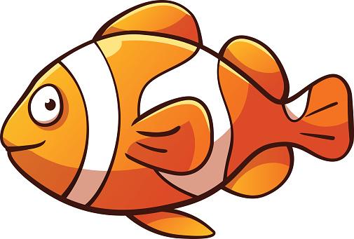 Clownfish clipart Clown clipart ClipartAndScrap clipart Clown