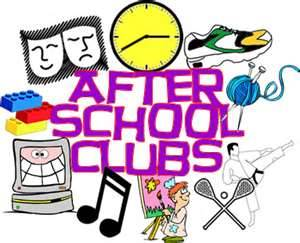 Club clipart after school Clubs and » Primary Agnes