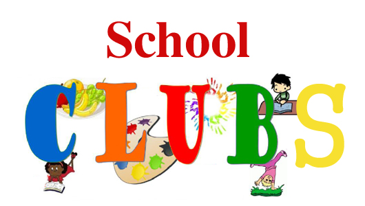 Club clipart after school Clubs School out are Valley