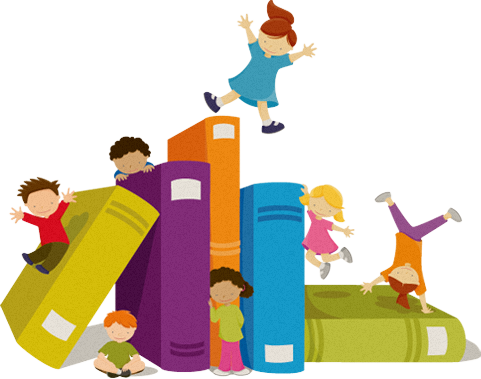 Club clipart children's book Library typical clubs up join