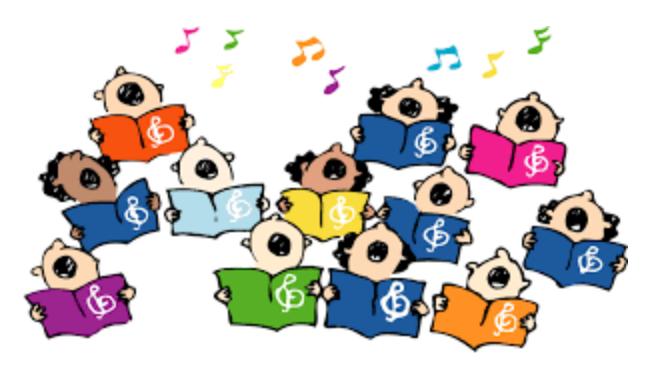 Club clipart children's choir Will Children's – be Children's