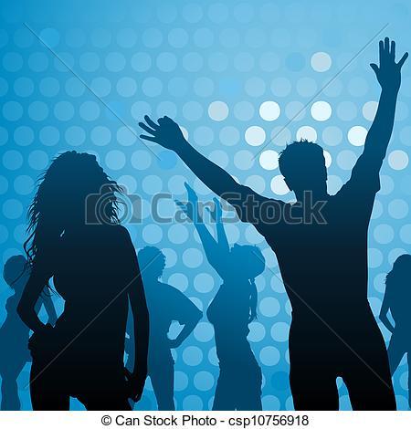 Club clipart dance club Club Dance Art Vector csp10756918