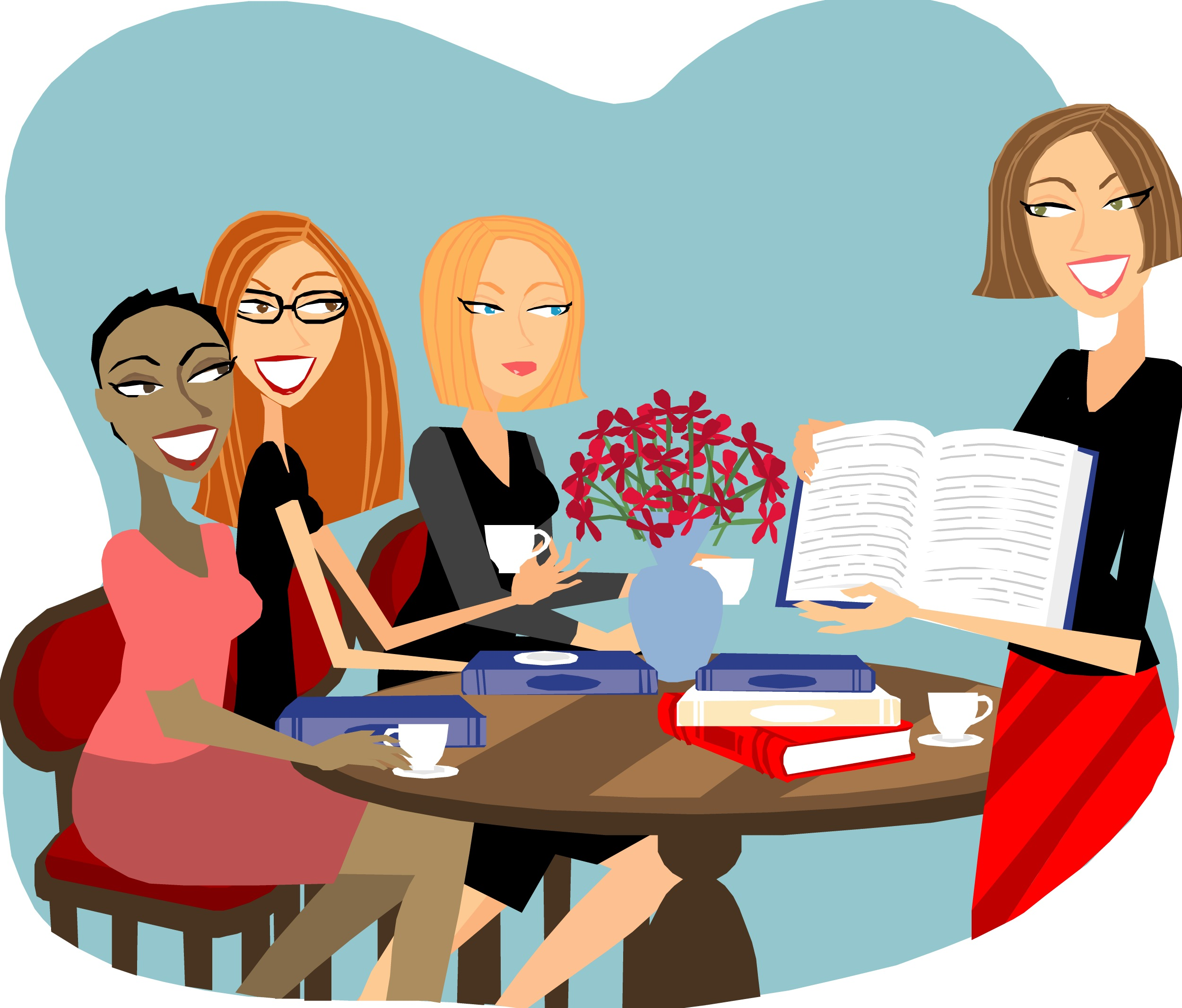 Club clipart discussion group Book Public To Club