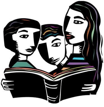 Club clipart discussion group Clipartion Clip Book Art Club