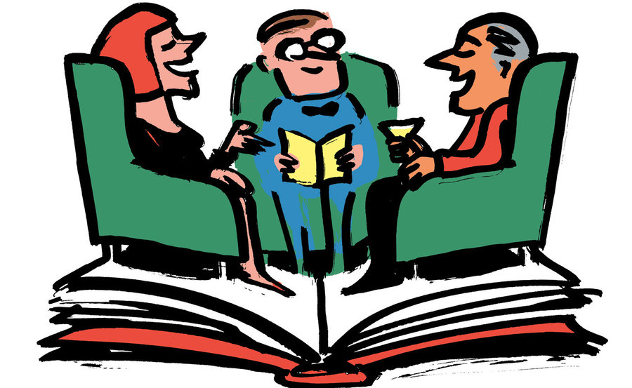Club clipart discussion group Clipart Clip book Book Art