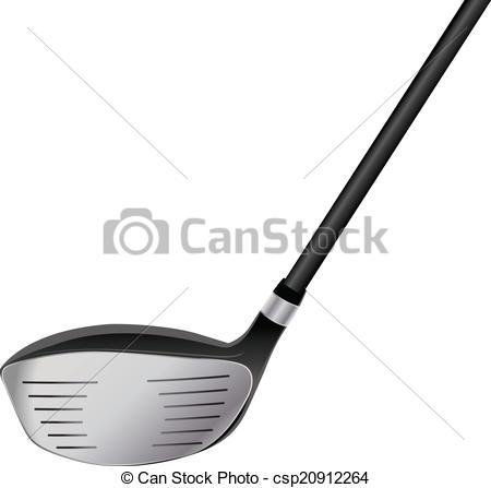 Golf Course clipart golf driver Vector  Clip Driver Illustration
