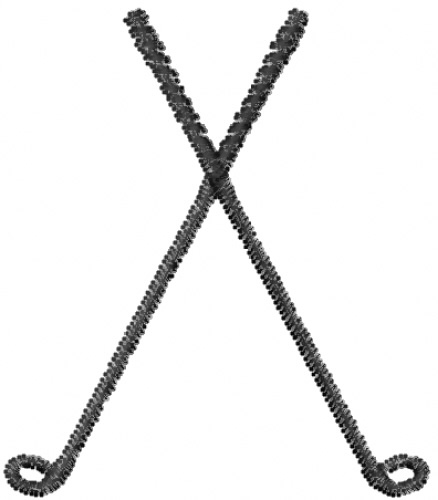 Club clipart golf stick Clubs on download Clipartix Crossed
