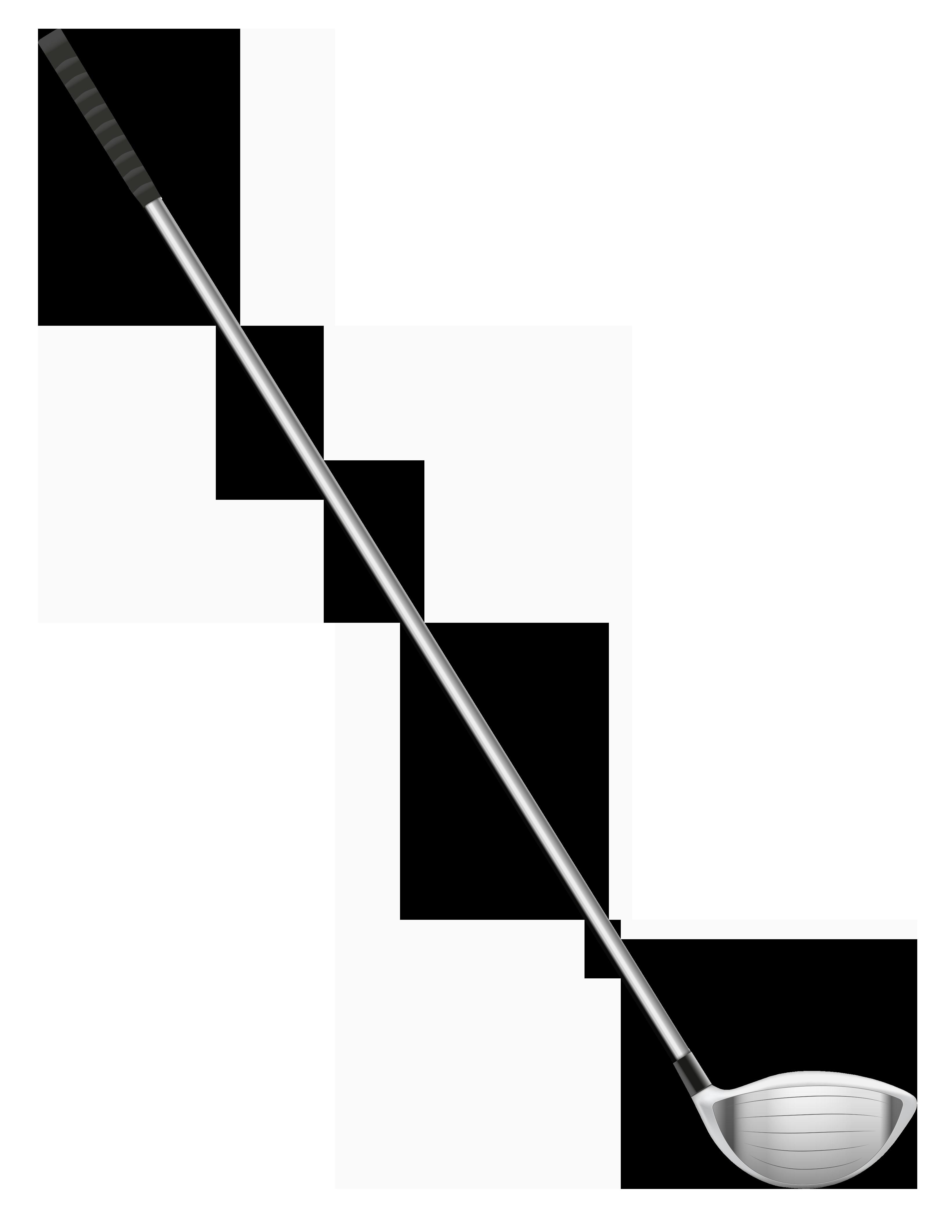 Golf Course clipart border Clipartix club clubs stick art