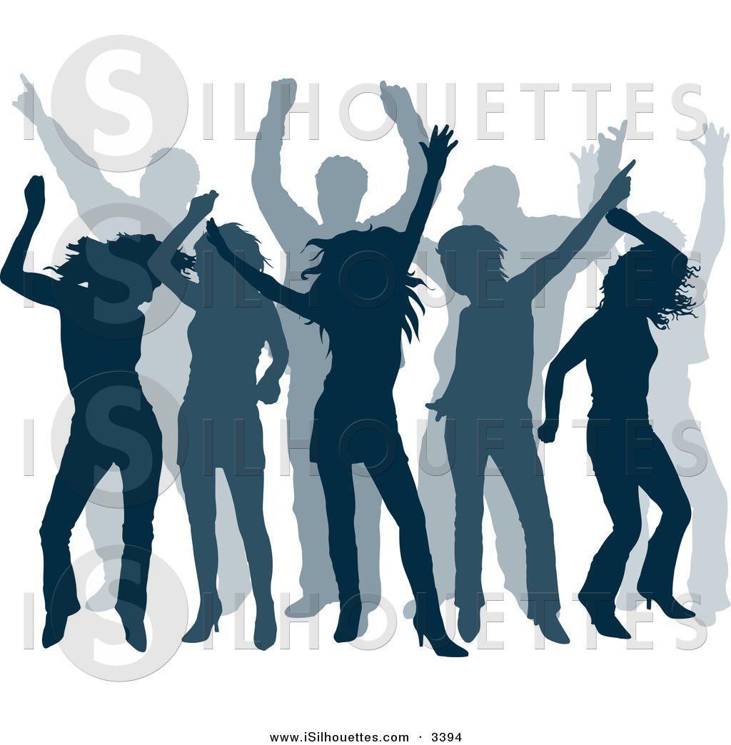 Club clipart group dancing  a Club Dancers a
