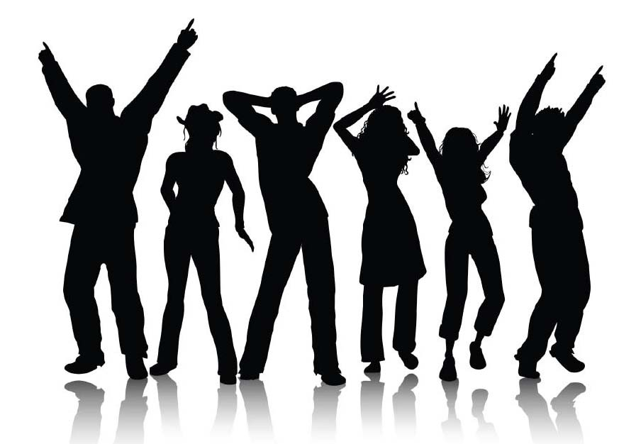 Club clipart group dancing Cliparts Dancing Cliparts Zone Club