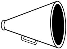Club clipart megaphone Megaphone collection clipart cliparts Megaphone