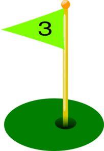 Golf Course clipart putt putt golf Hole 3rd art Golf Golf