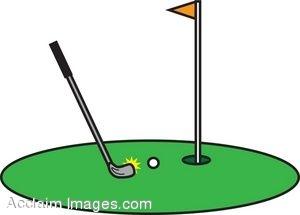 Flag clipart mini golf Panda Art Free club%20clipart Golf