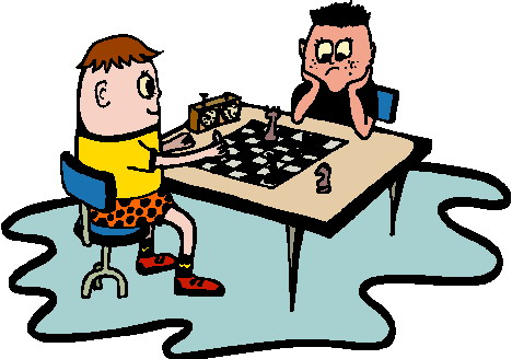 Club clipart play chess Clip Playing chess art chess