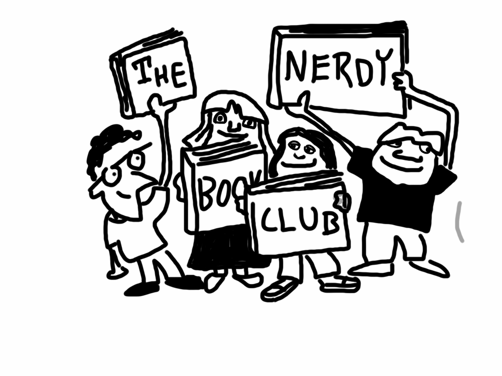 Club clipart reading and writing Literature Proud meets Nerdy Member