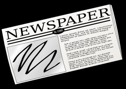 Advertisement clipart news report Clipart clipart images 4 clipart