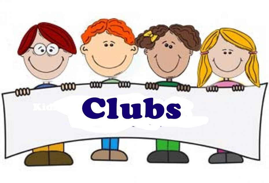 Club clipart weekend activity Activities Clubs Of and Activities