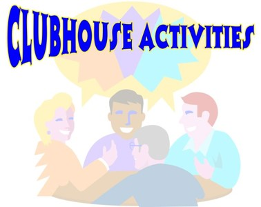 Club clipart weekend activity Club/Activity Activity Clubhouse Committee Canal