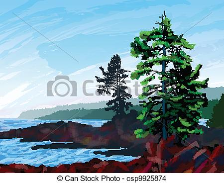 Coast clipart Coast Clip painting West and