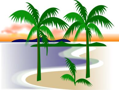 Coast clipart Nature Coast Florida  Palms