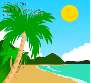 Sandy Beach clipart Free Images Clipart Clipart Coast