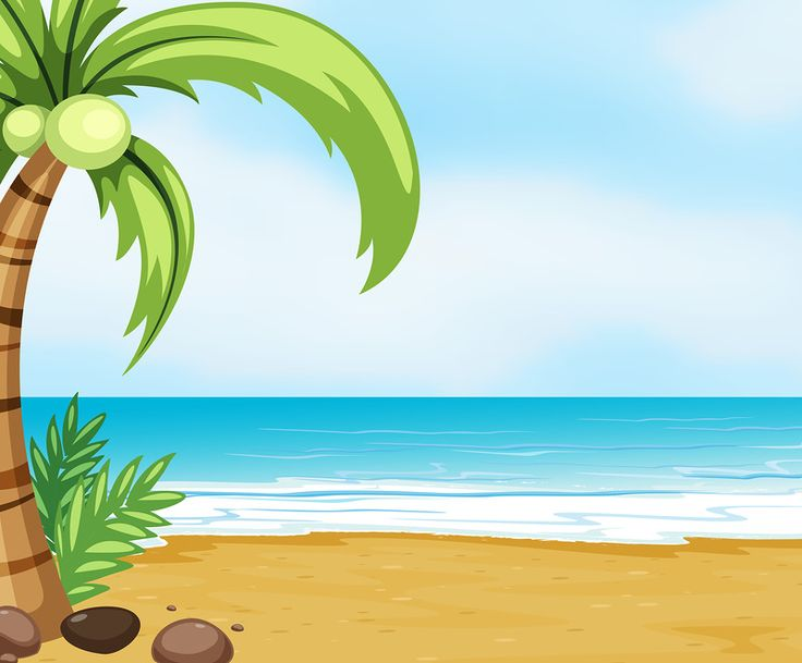 Beach clipart beach person 478 best Die Яндекс Pinterest
