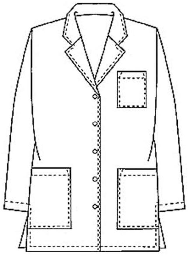 Coat clipart doctor coat Library Cliparts Art Coat Clip