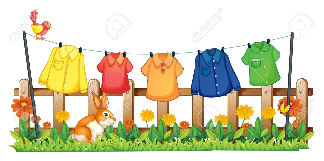 Background clipart clothes #5