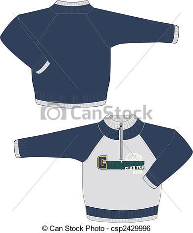 Coat clipart kid sweater #15