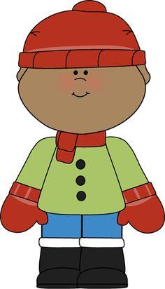 Coat clipart kid sweater #10