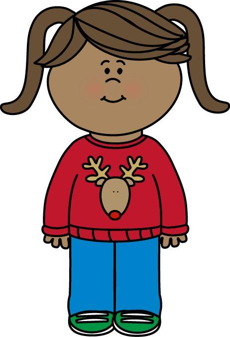 Coat clipart kid sweater #7