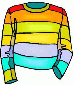 Coat clipart kid sweater #14