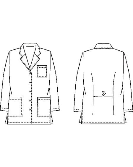 Coat clipart lab apron Lab Cartoon Lab Apron Clipart