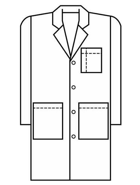 Coat clipart lab apron Apron Clip Lab Download Cliparts