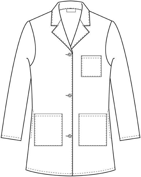 Coat clipart lab apron Coat Lab Coats White Lab