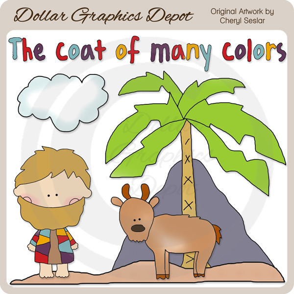 Coat clipart many color Coat Art Dollar and