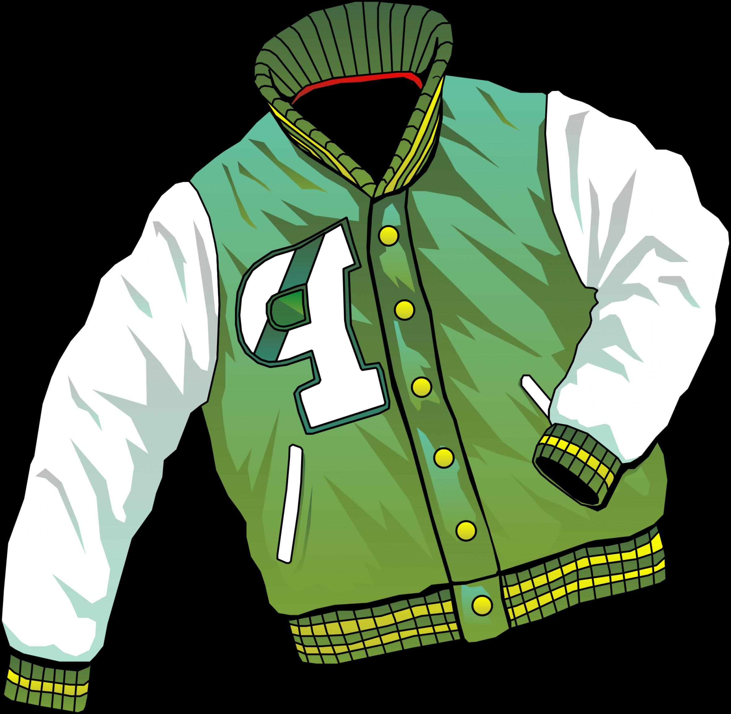 Coat clipart put Put On jacket Put on