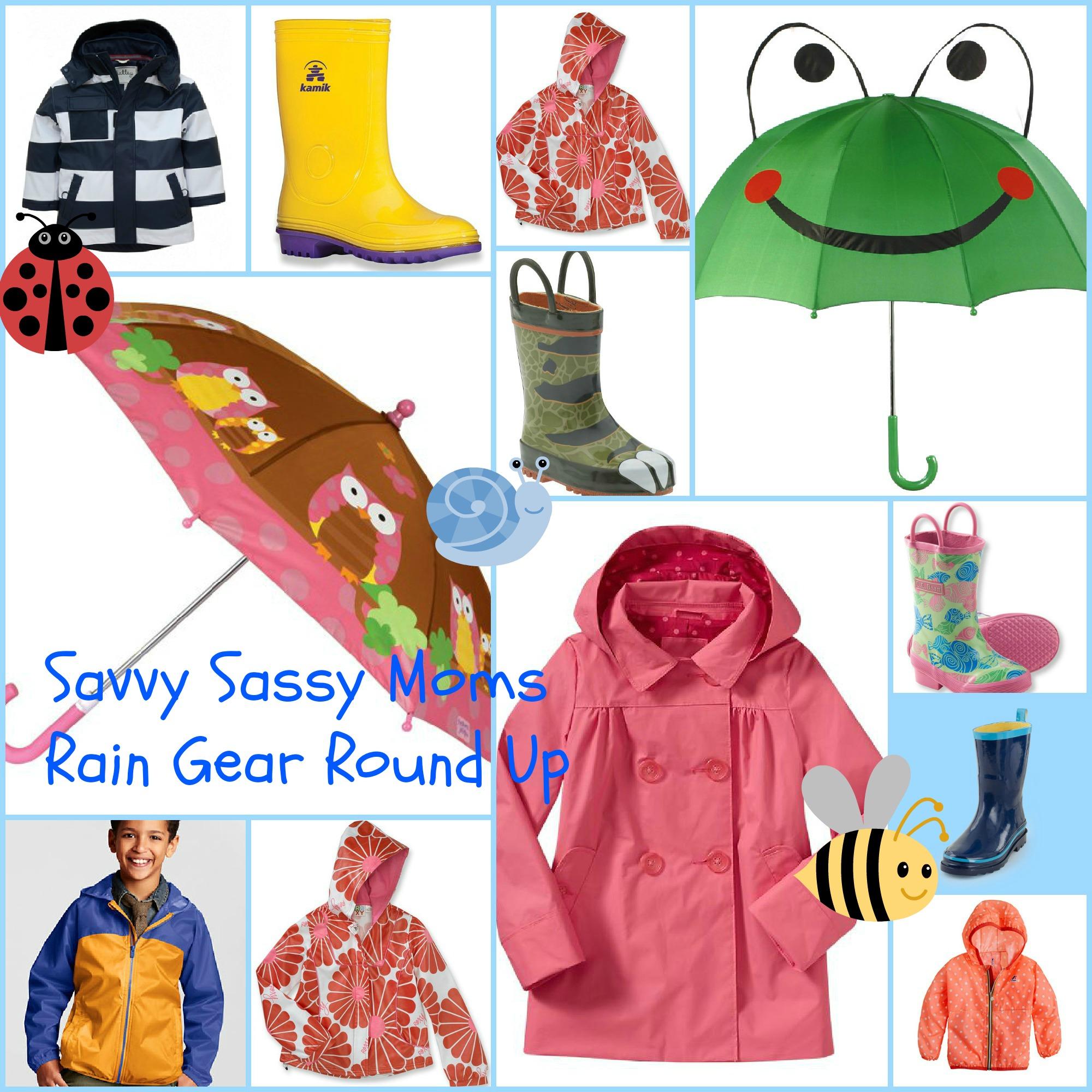 Coat clipart rain gear Gear Gear Savvy rain Sassy