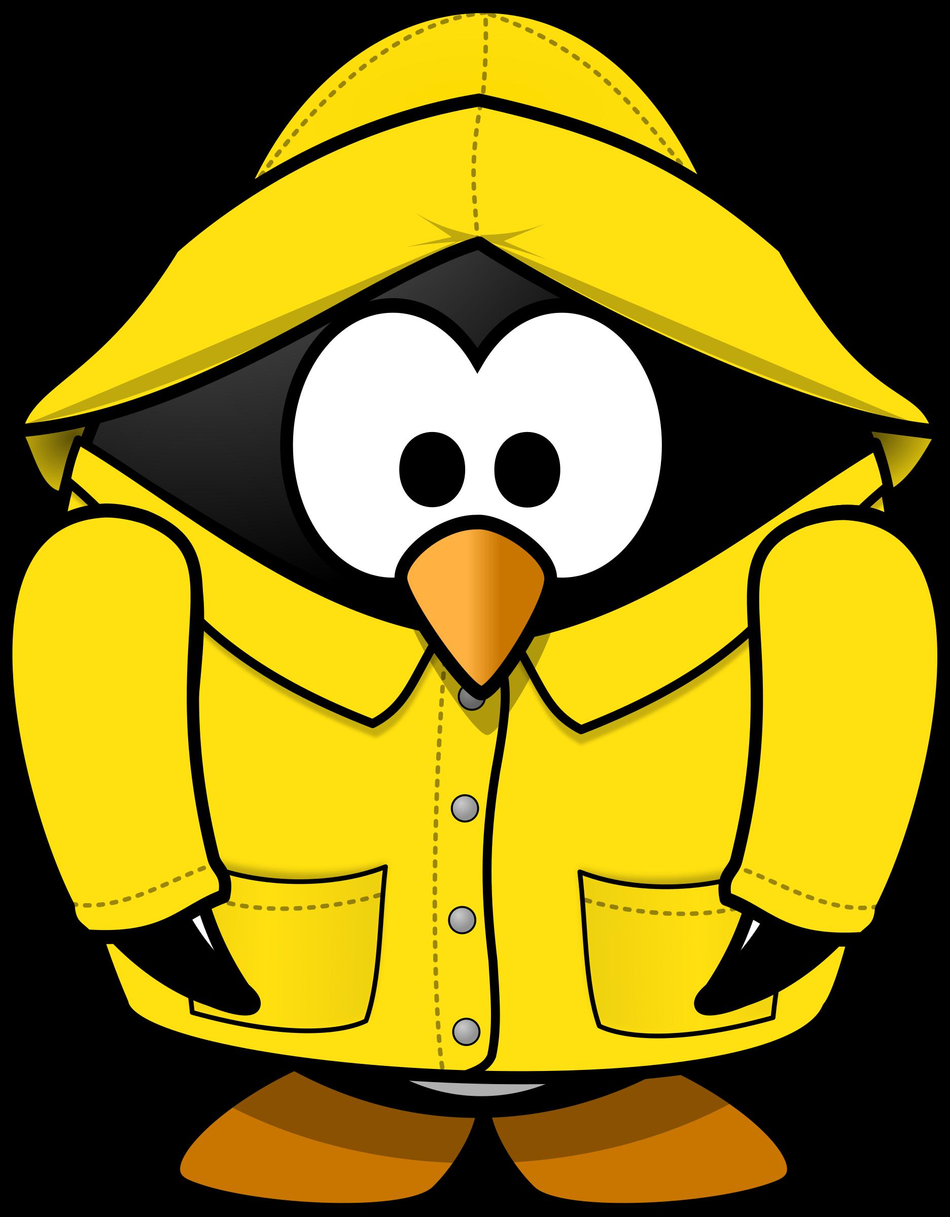 Penguin clipart rain The rain Penguin in the